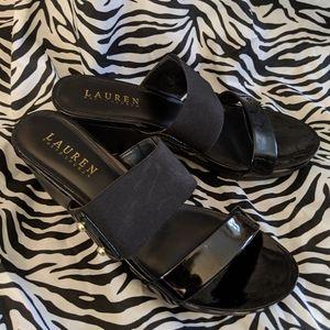 Ralph Lauren slip on sandals